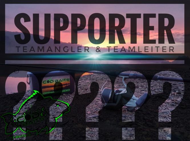 Supporter + Teamangler + Teamleiter